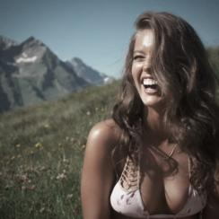 Emily DiDonato in Switzerland, Swimsuit 2014