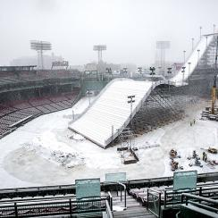 Big Air at Fenway Park