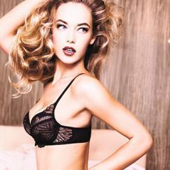 Hannah Ferguson for Triumph lingerie