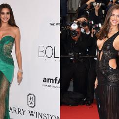 Irina Shayk, Cannes Film Festival 2015 and 2013