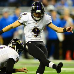 Justin Tucker nailed six field goals against the Lions in 2013, helping many fantasy owners clinch their matchups.