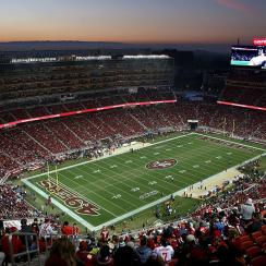 Levi's Stadium in Santa Clara, Calif.