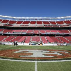 Levi's Stadium during the inaugural San Francisco 49ers 2014 NFL preseason game against the Denver Broncos in Santa Clara, Calif.