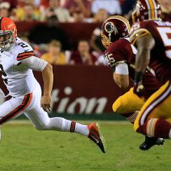 Johnny Manziel, Brian Hoyer struggled in Browns' preseason loss to Redskins