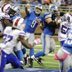 Fantasy Football Week 6 Start 'Em, Sit 'Em: Detroit Lions' offense takes a hit with Calvin Johnson hurt