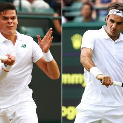 Milos Raonic is playing in his first Grand Slam semifinal, while this is Roger Federer's 35th Slam semi.