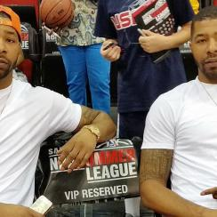 The Morris twins are the real MVPs of the Las Summer League, whether they play or not.
