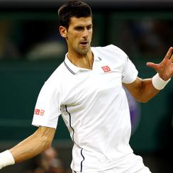 Top-ranked Novak Djokovic is set to play his first tournament since winning Wimbledon last month.