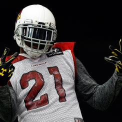 Arizona Cardinals defensive back Patrick Peterson recently signed a multi-year deal with Under Armour.