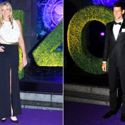 Petra Kvitova and Novak Djokovic both won their second Wimbledon title in 2014.