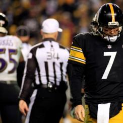 Baltimore Ravens stifle Pittsburgh Steelers in 2014 NFL playoffs wild-card round
