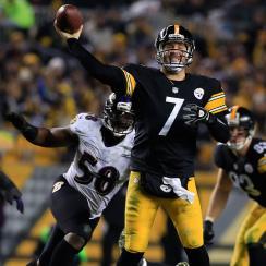 Ben Roethlisberger Steelers Ravens
