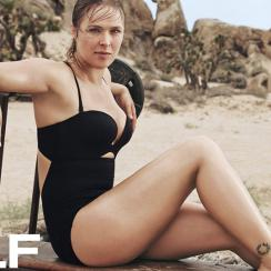Ronda Rousey for SELF Magazine