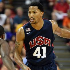 Derrick Rose is ready to lead USA Basketball after a number of roster changes in recent weeks.