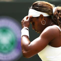 Serena Williams has lost before the quarterfinals in every Grand Slam this season.
