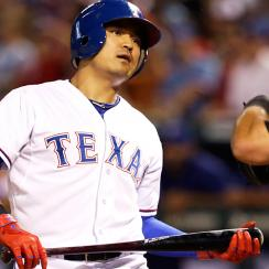After signing a seven-year, $130 million deal with Texas in the offseason, Shin-Soo Choo has contributed only a .250/.373/.391 batting line and 113 OPS+ so far.