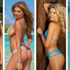 SI Swimsuit models who golf