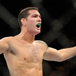 Chris Weidman will attempt to retain possession of the middleweight crown in his bout against Lyoto Machida.