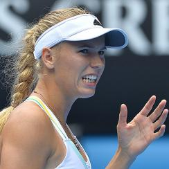 A Grand Slam win continues to elude Caroline Wozniacki, as she loses in round three of the Australian Open.