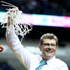 "Geno Auriemma on if he's the best coach of all time: ""Every coach who coaches great players thinks their players are the best ever."""