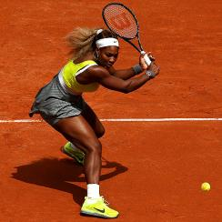 Serena Williams looked nothing like her usual dominant self against No. 35 Garbine Muguruza.