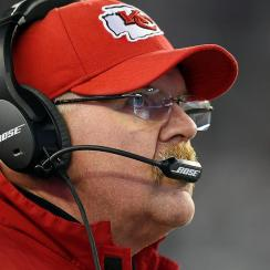 Chiefs coach Andy Reid will take over play calling