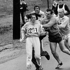 First female Boston Marathon runner prepares to race again