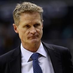 Report: Warriors remain concerned with coach Steve Kerr's return