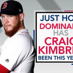 Craig Kimbrel is on pace for a historically unprecedented season