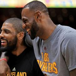LeBron James Denies He Wants Kyrie Irving Traded