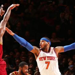 Carmelo, Porzingis or Kyrie to be face of the Knicks? IMG