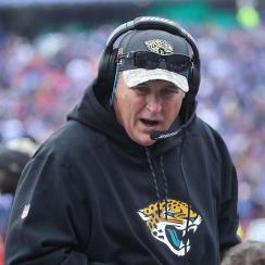 Jaguars Coach Says Quarterback Job 'Up for Grabs'