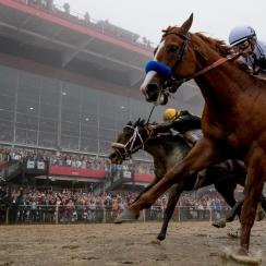Justify Continues Triple Crown Quest With Preakness Victory