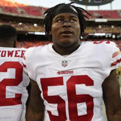 Reuben Foster's Domestic Violence Charges Dropped by Judge