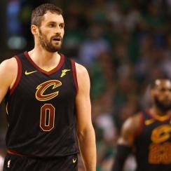 Cavaliers' Kevin Love Placed in Concussion Protocol, Ruled Out For Game 7