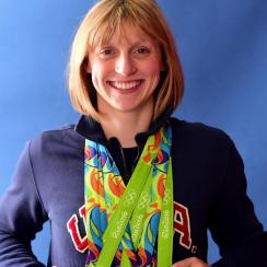 Olympic Swimmer Katie Ledecky Signs First Deal Since Going Pro