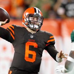 Baker Mayfield Takes Over at QB, Leads Browns to First Win in 635 Days
