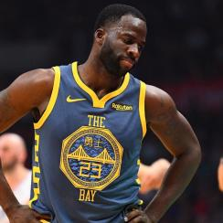 Draymond Green Likely To Miss Two Games With Toe Sprain