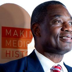 Dikembe Mutombo Flies Boy With Tumor From Africa to United States For Surgery