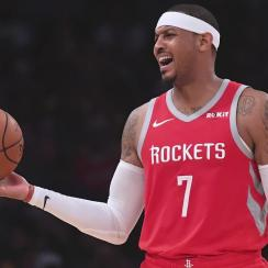 Report: Rockets Trade Carmelo Anthony to Bulls, Expected to be Released