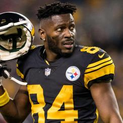 Antonio Brown requests trade, says goodbye to Steelers