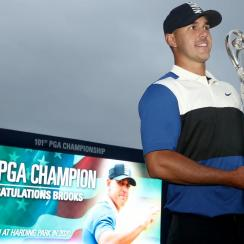 Brooks Koepka Avoids Collapse to Win Second Consecutive PGA Championship