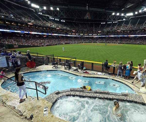 Az Swimming Pools: Ballpark Quirks: Taking A Dip In Chase Field's Swimming