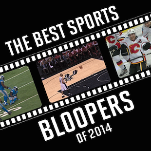 Sports bloopers 2014