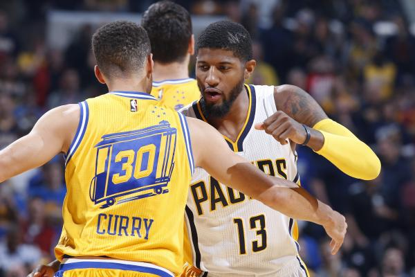Image result for steph curry paul george