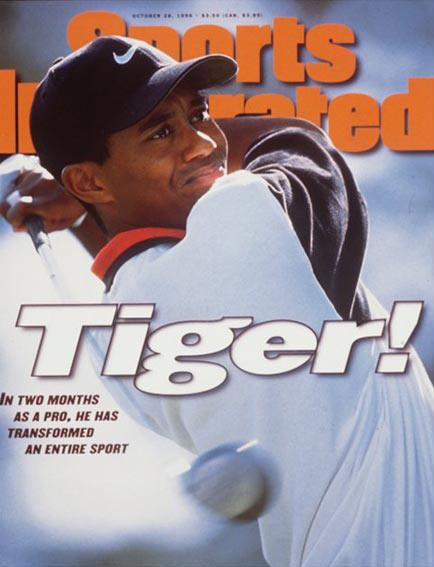 tiger woods sports illustrated covers