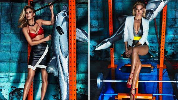 Bar Refaeli Makes The Gym Look Sexy On The Cover Of Marie Claire Mexico-2812