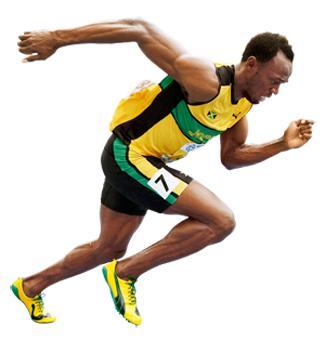 Why does Usain Bolt run so fast? - YouTube