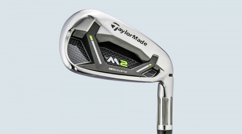 TaylorMade M2 irons.