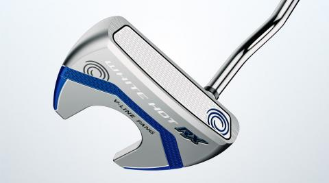 Odyssey White Hot RX V-Line Fang putter.